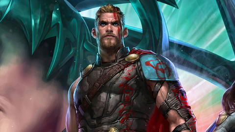 Image for 'Thor: Ragnarok' Takes Marvel Games By Storm