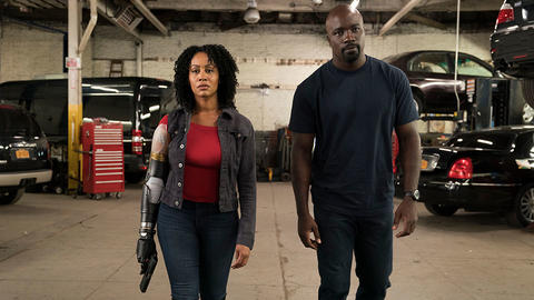 Image for See Misty Knight's Bionic Arm in 'Marvel's Luke Cage' Season 2 First Look
