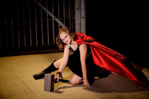 Abbie Hagen as Thor