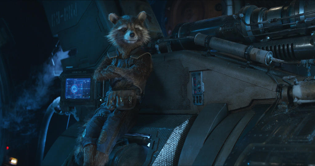 "Rocket in ""Avengers: Infinity War"""