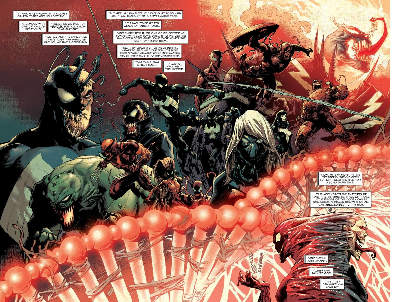ABSOLUTE CARNAGE #1 interior pencils by Ryan Stegman
