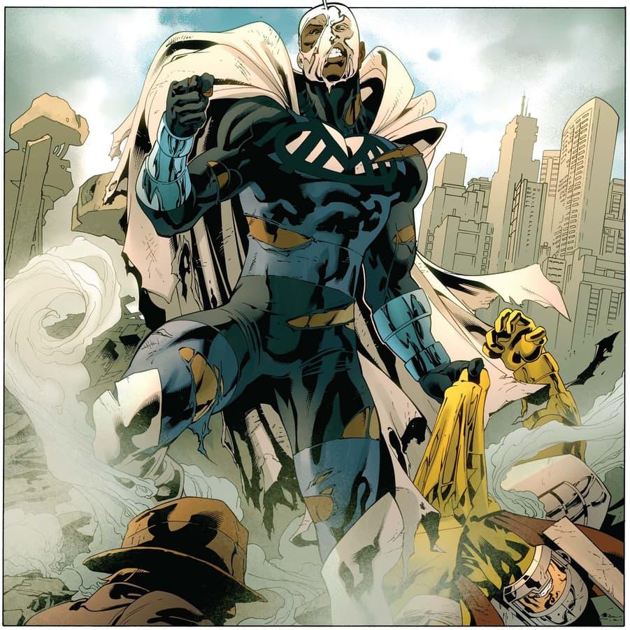 The Blue Marvel revealed.
