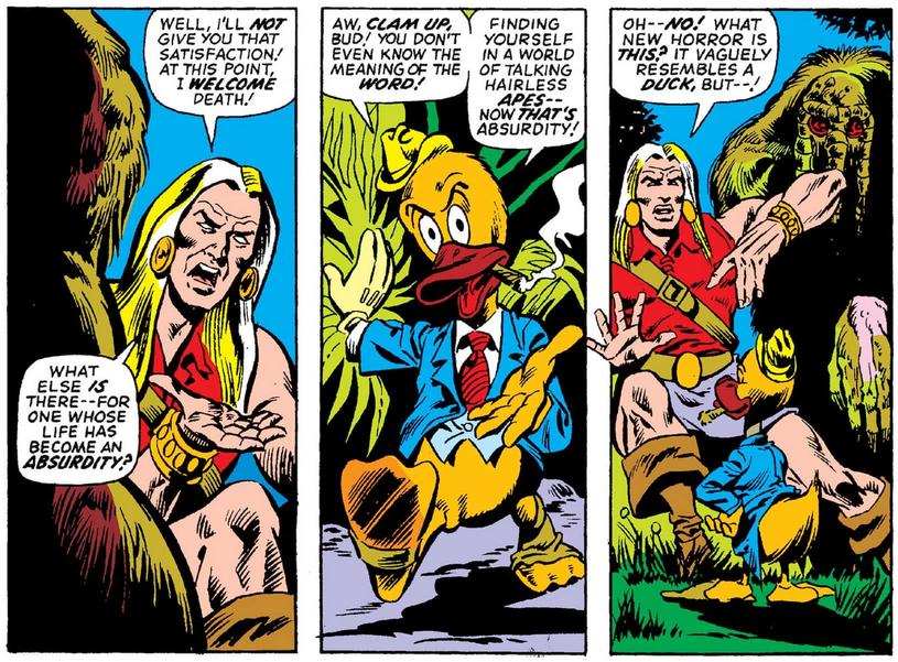 Debut of Howard the Duck