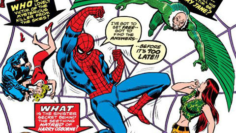 Image for The History of Spider-Man: 1973