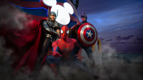 Image for Disney Cruise Line Expands Marvel Day at Sea