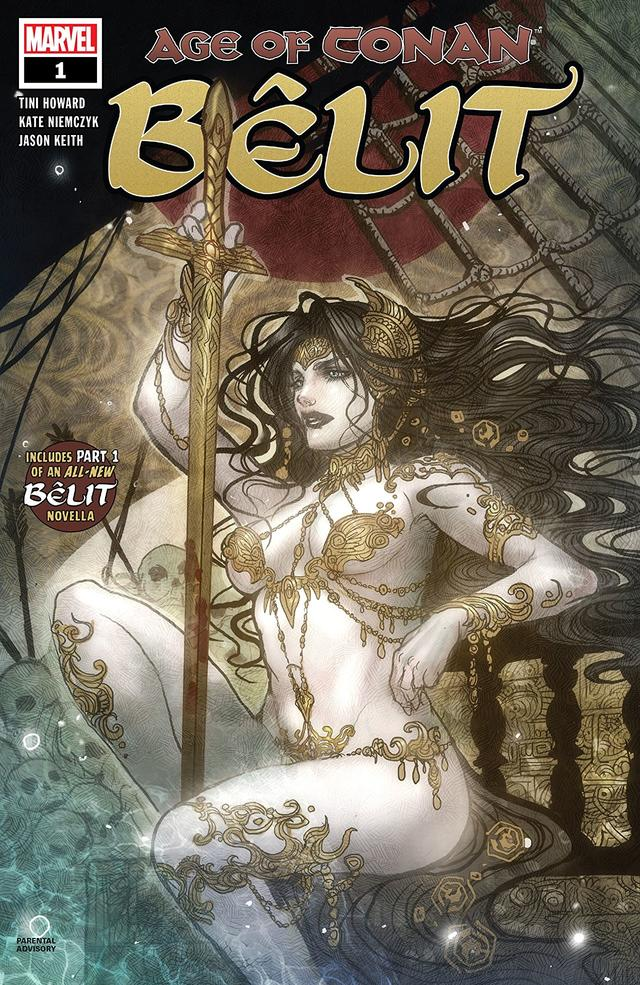 Cover of Age of Conan Belit #1
