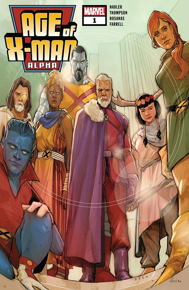Age of X-Man: Alpha #1 cover