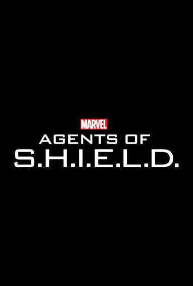 Marvel's Agents of S.H.I.E.L.D. TV Show Logo On Black