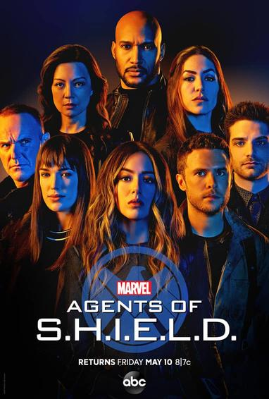 Marel's Agents of S.H.I.E.L.D. TV Show Poster