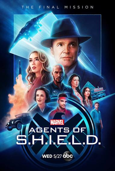 Marel's Agents of S.H.I.E.L.D. TV Show Season 7 Poster