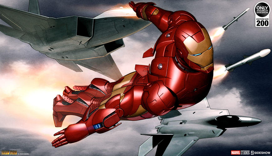 Iron Man Mark 3 Fine Art Print by Sideshow