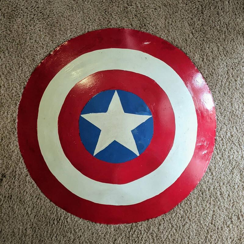 Alexis Sanchez Captain America Shield