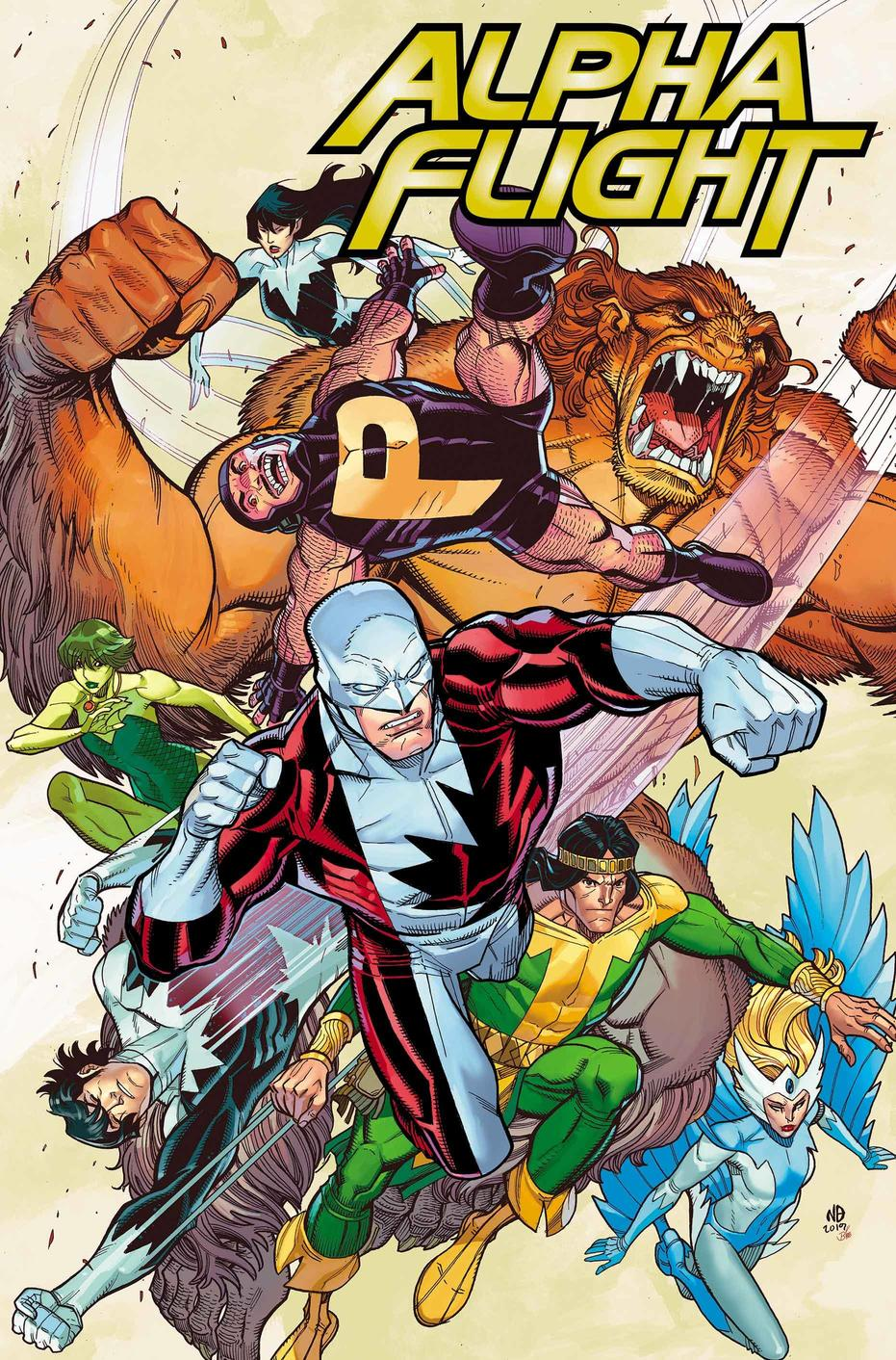 ALPHA FLIGHT: TRUE NORTH #1!