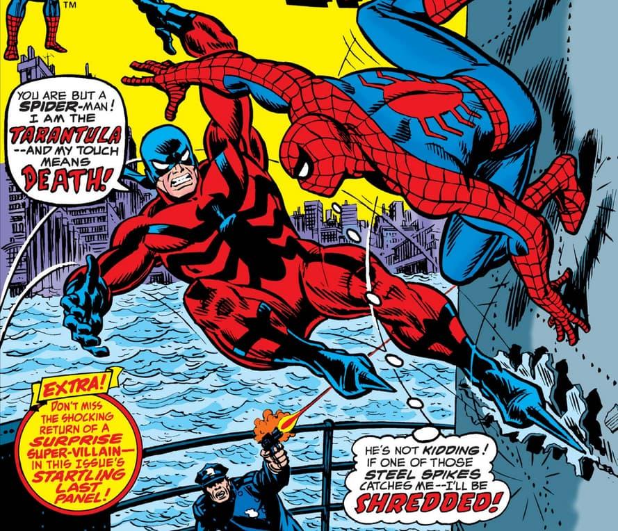 Tarantual vs Spider-Man