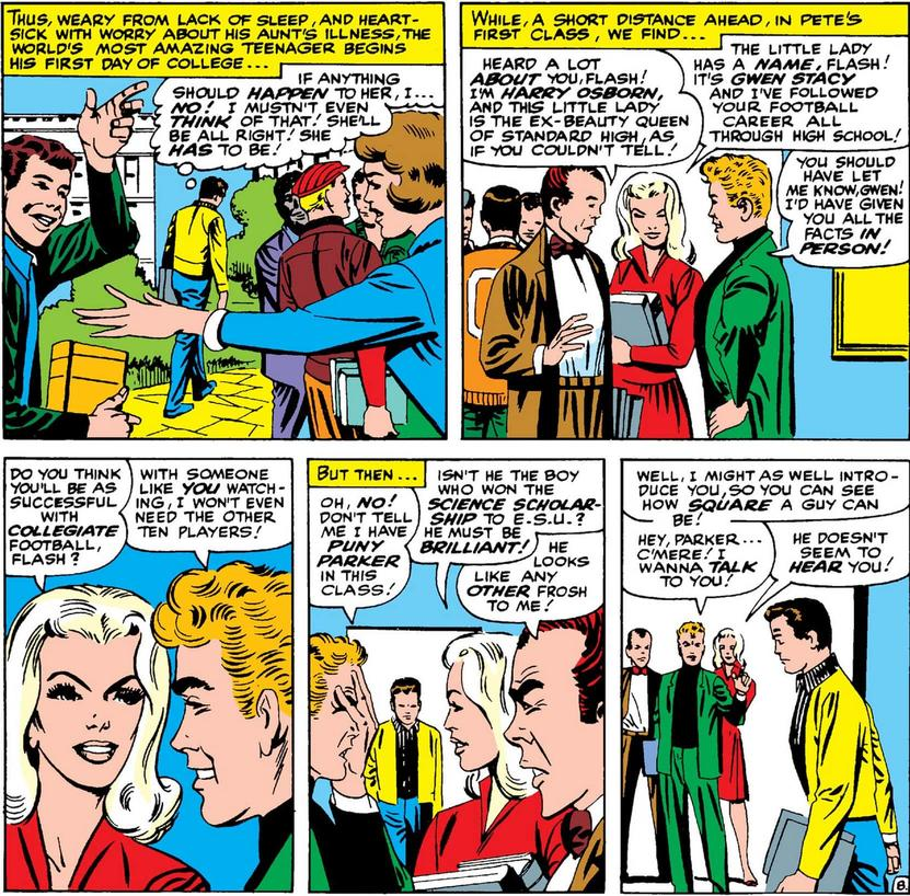 Gwen Stacy's introduction