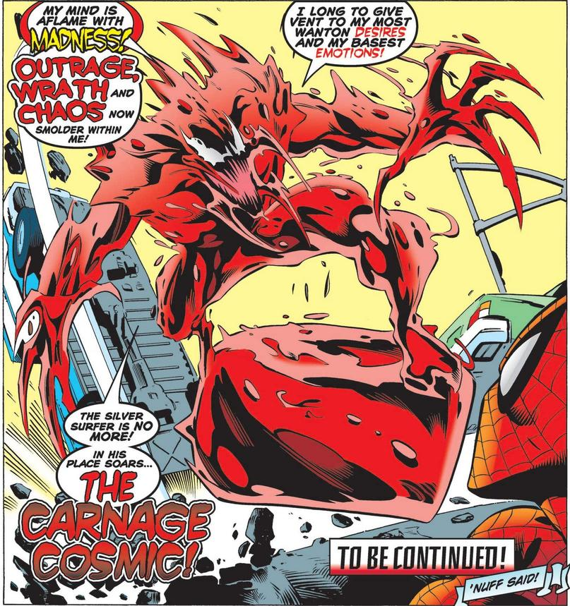 Silver Surfer as Carnage