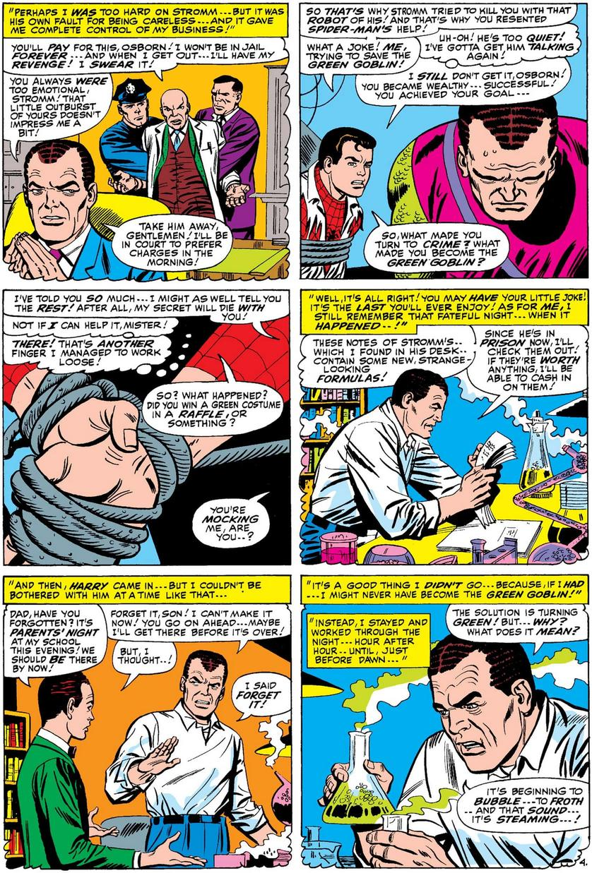 Norman Osborn explains himself