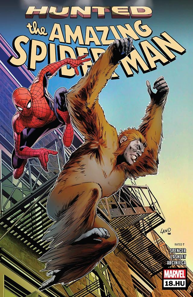 Amazing Spider-Man #18.HU cover