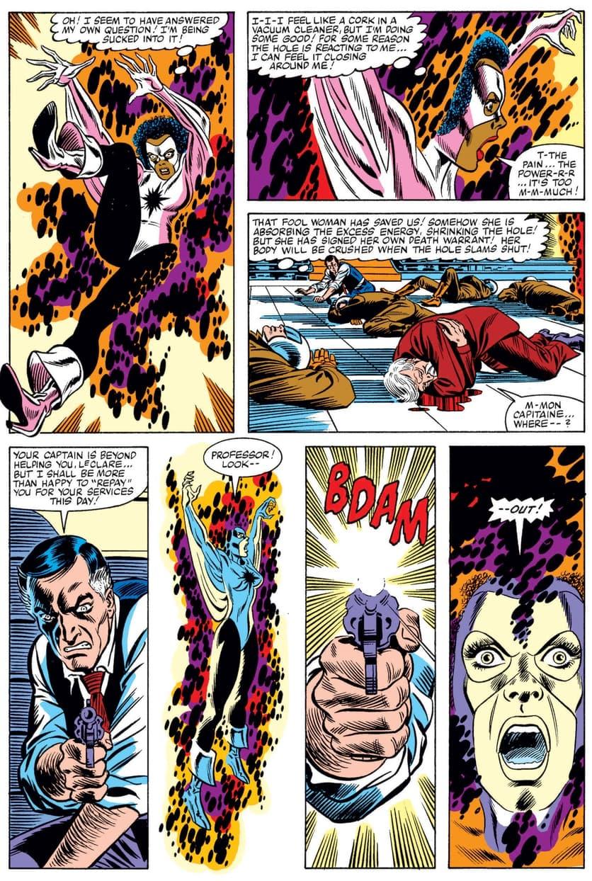 The birth of Captain Marvel: Monica Rambeau!