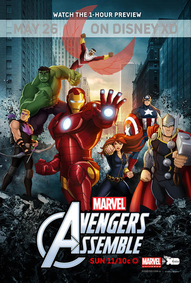 Marvel's Avengers Animated TV Show Poster