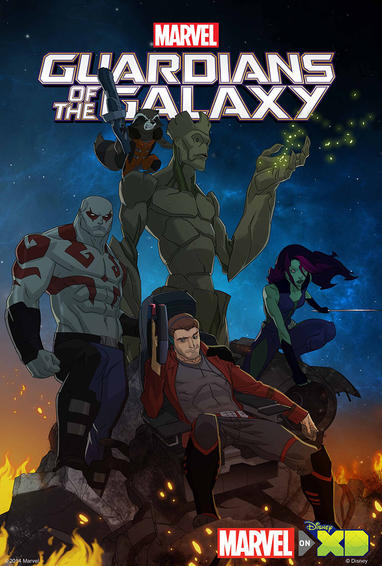 Marvel's Guardians of the Galaxy Animated TV Show Poster