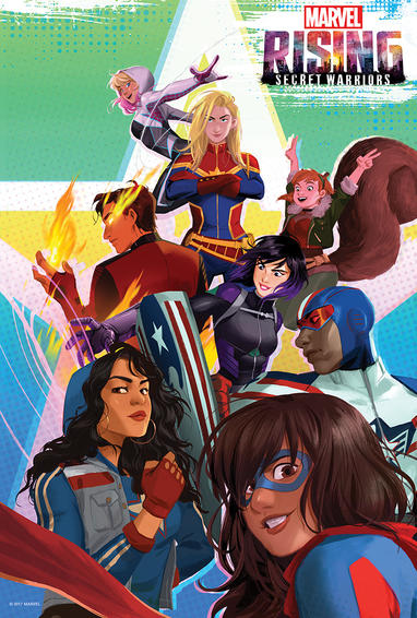 Marvel Rising Season 1 (2018) | Synopsis, Cast & Characters | Marvel
