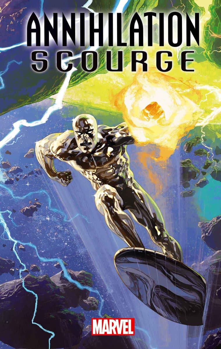 ANNIHILATION - SCOURGE: SILVER SURFER #1 cover by Josemaria Casanovas