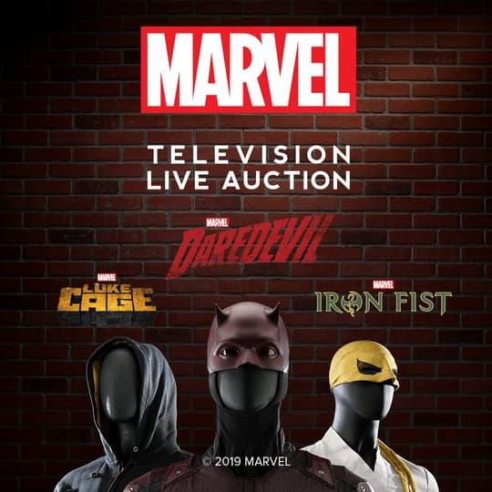 Marvel Television Live Auction