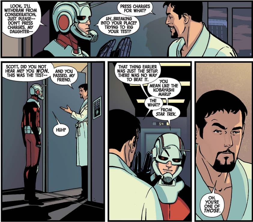 Ant-Man and Tony