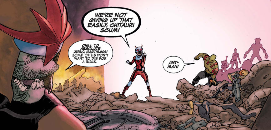 Ant-Man with Guardians of the Galaxy