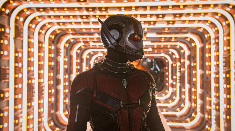 Ant-Man is played by Paul  Rudd