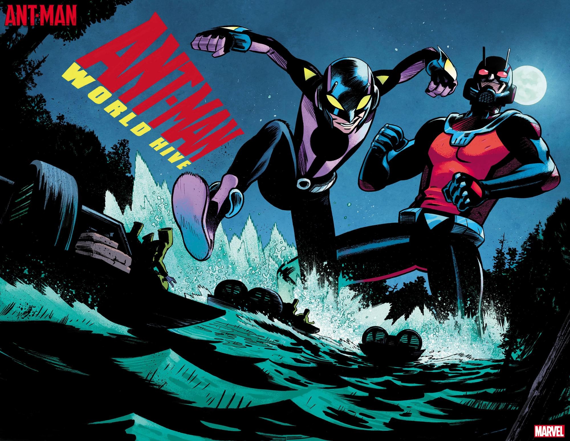 Ant-Man #1 preview art