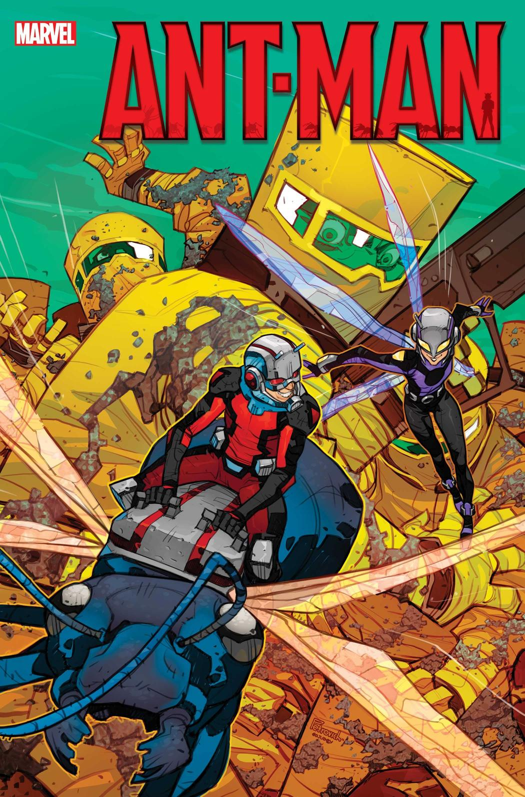 comics Ant-Man tome #1
