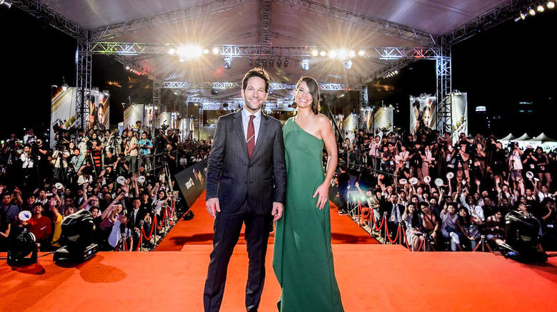 Paul Rudd and Evangeline Lilly in Taiwan for the Ant-Man and the Wasp Fan Event