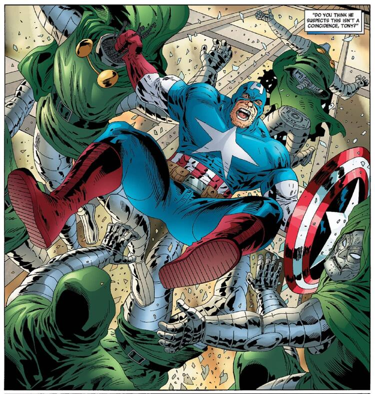 Frank Castle as Captain America