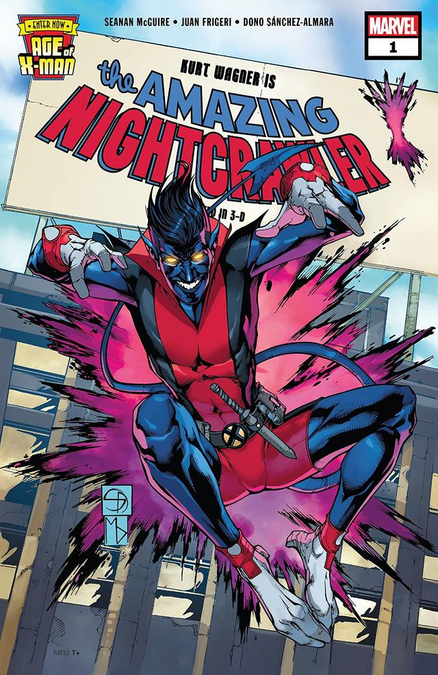 Cover of Age of X-Man: The Amazing Nightcrawler