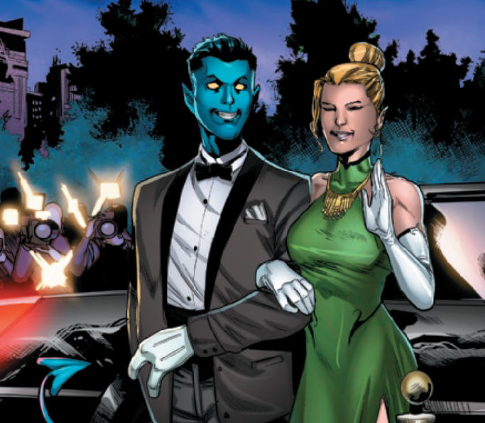 Nightcrawler and Meggan