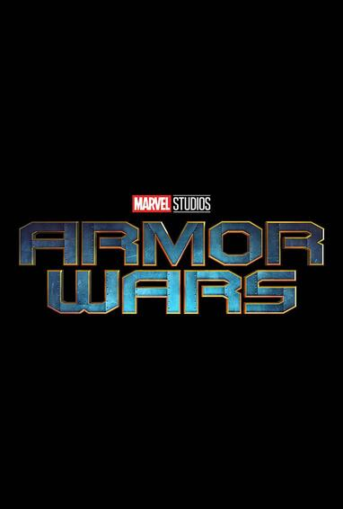 Marvel Studios Armor Wars Disney Plus TV Show Season 1 Logo on Black