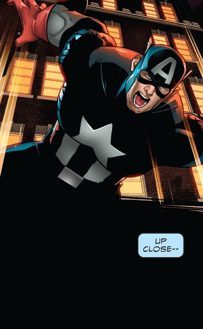 Captain America takes a leap in Philadelphia!