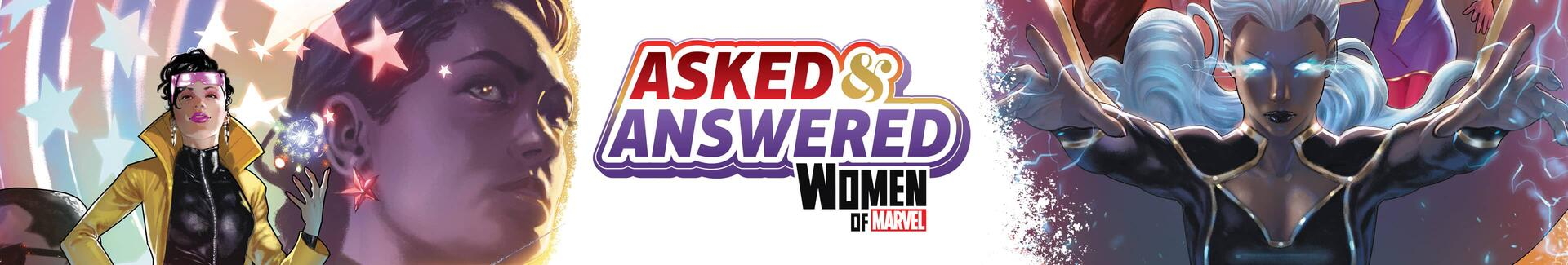 Asked & Answered with the Women of Marvel