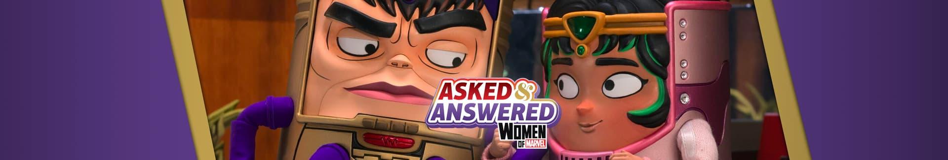 Asked & Answered: 'Marvel's M.O.D.O.K.'