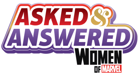 Asked & Answered with the Women of Marvel Logo
