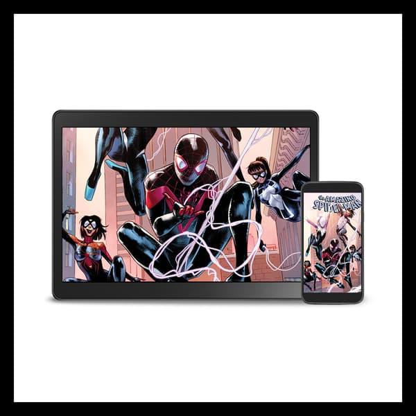 Marvel Insider The Amazing Spider-Man #50 Digital Wallpaper