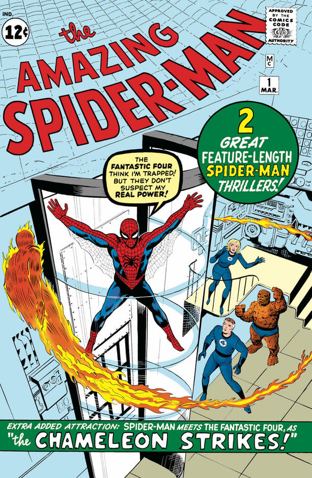 Spider-Man cover