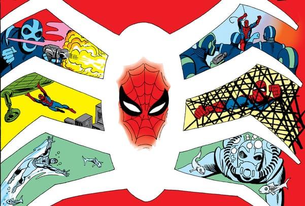 Steve Ditko Amazing Spider-Man cover