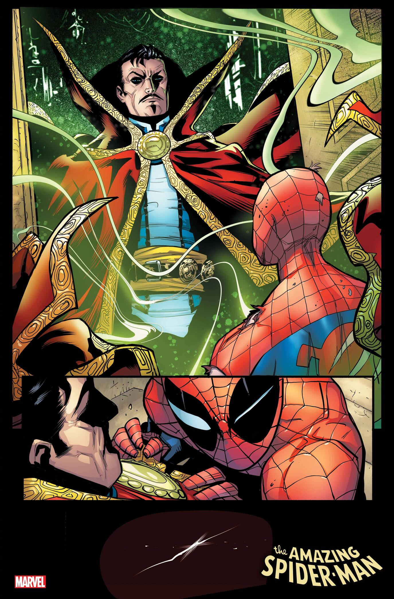 AMAZING SPIDER-MAN #50 preview interiors by Patrick Gleason and Edgar Delgado