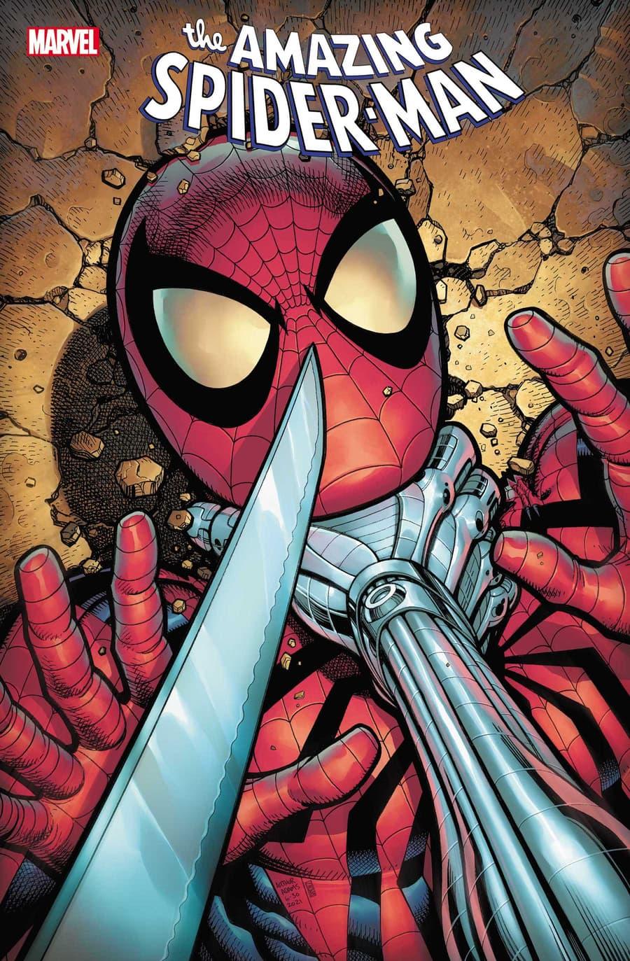 AMAZING SPIDER-MAN #77 cover by Arthur Adams