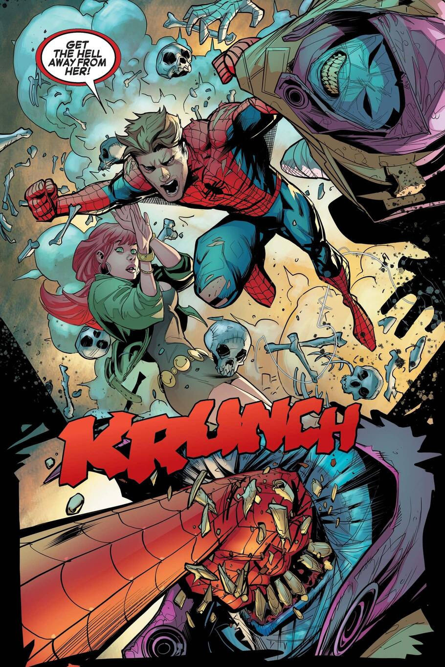 Peter Parker pushed to the edge by Kindred.