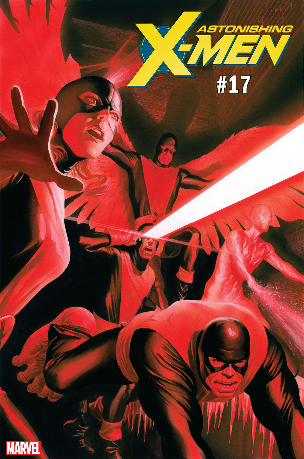 ASTONISHING X-MEN #17 UNCANNY X-MEN VARIANT COVER by Alex Ross
