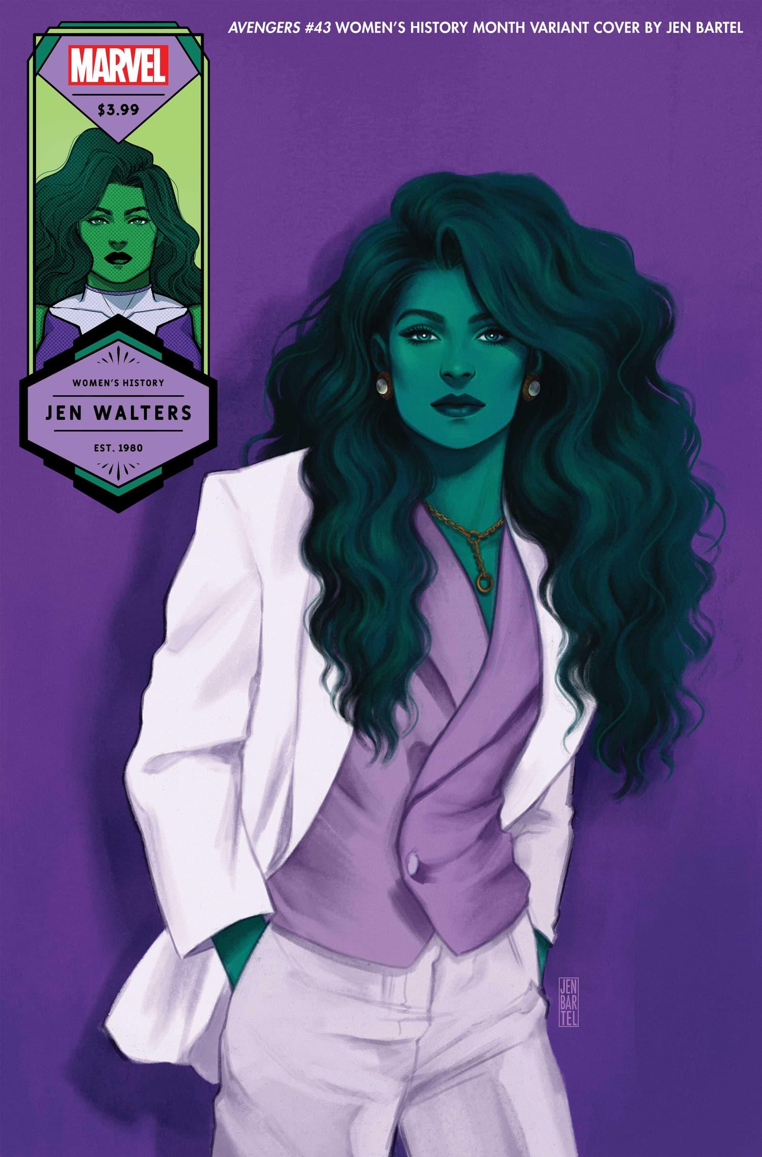She-Hulk variant cover